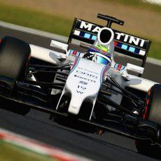 Felipe Massa no tuvo un gran rendimiento el viernes