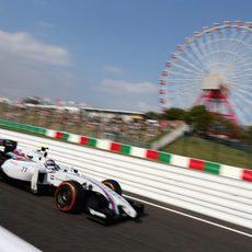 Valtteri Bottas suma una vuelta más en Suzuka