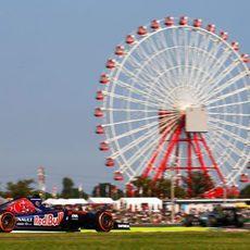 Primera vez que Daniil Kvyat en el circuito de Suzuka