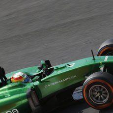 Roberto Merhi de nuevo a los mandos del Caterham