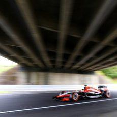 Jules Bianchi se queda con la 20ª posición de salida