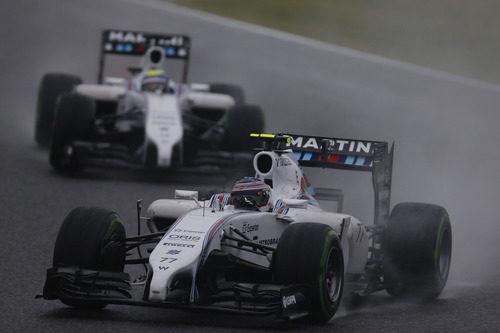Los dos Williams han dado lo máximo de sus coches