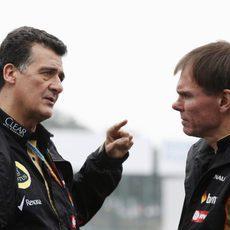 Federico Gastaldi jefe del equipo Lotus en funciones en este GP