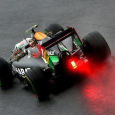 Sergio Pérez termina 10º