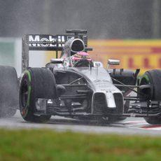 Jenson Button termina la carrera en quinta posición