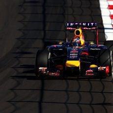 Sebastian Vettel rodando en Sochi