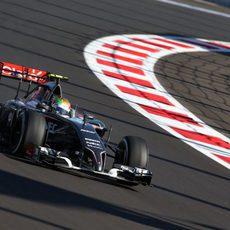 Esteban Gutiérrez se ha perdido la primera sesión de entrenamientos libres