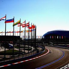 Max Chilton es el único Marussia en pista