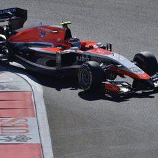 Max Chilton partirá desde la última posición de la parrilla