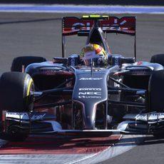 Esteban Gutiérrez partirá desde la 14º posición
