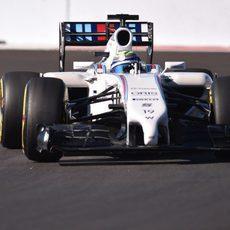 Felipe Massa queda fuera en la Q1