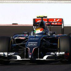 Los Sauber han conseguido superar a los Lotus