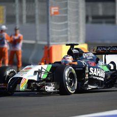 Nico Hülkenberg consigue la 12ª posición