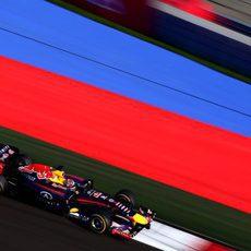 Sebastian Vettel no ha conseguido sentirse a gusto en el RB10