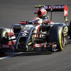 Pastor Maldonado termina en 18ª posición