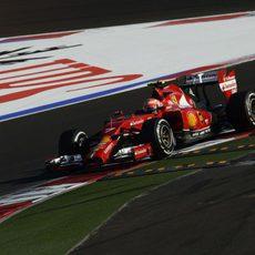 Kimi Raikkonen tan solo ha podido ser 9º