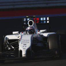 Valtteri Bottas ha encadenado varias vueltas rápidas en los últimos compases
