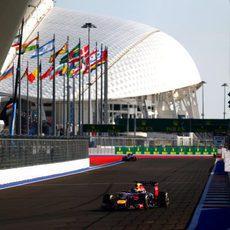 Sebastian Vettel ha perdido ritmo progresivamente