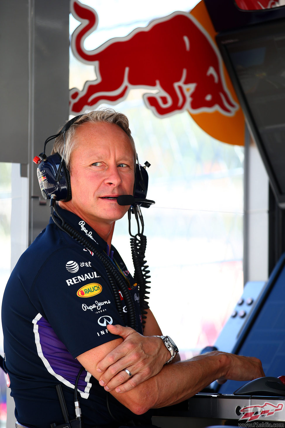 Jonathan Wheatley, Team Manager del equipo Red Bull