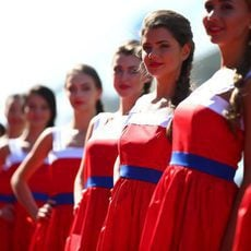Las pitbabes del Gran Premio de Rusia