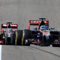 Jean-Eric Vergne es sancionado por su maniobra de adelantamiento a Grosjean