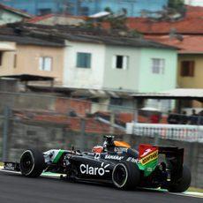 Dani Juncadella rodando en el Autodromo José Carlos Pace