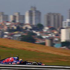 Mucha pobreza en Sao Paulo rodeando el GP