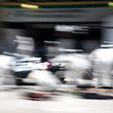 Felipe Massa paró en el box de McLaren en su segunda parada