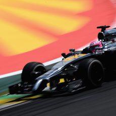 Gran actuación de Jenson Button