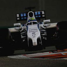 Felipe Massa ha visto su primera sesión repentinamente terminada