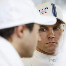 Valtteri Bottas y Felipe Massa en Abu Dabi