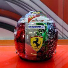 El casco de Fernando Alonso para el GP de Abu Dabi (3)