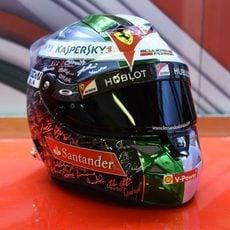 El casco de Fernando Alonso para el GP de Abu Dabi (6)