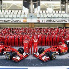 Foto de familia de Ferrari