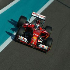 Fernando Alonso durante su último GP con Ferrari