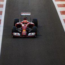 Kimi Raikkonen ha tenido problemas para poner a punto su monoplaza