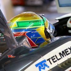 Esteban Gutiérrez agradece a Peter Sauber su confianza depositada