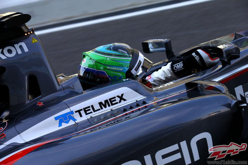 Adderly Fong hizo sus primeros Fórmula 1 en Valencia