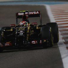 Pastor Maldonado confía en poder sacar algo más de velocidad del coche