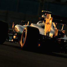 Nico Rosberg con buenas sensaciones en el coche