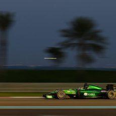 Kamui Kobayashi no pudo terminar el GP de Abu Dabi