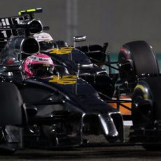 Jenson Button y Kevin Magnussen emparejados