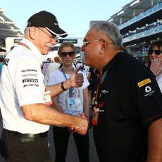 Vijay Mallya jefe del equipo Force India