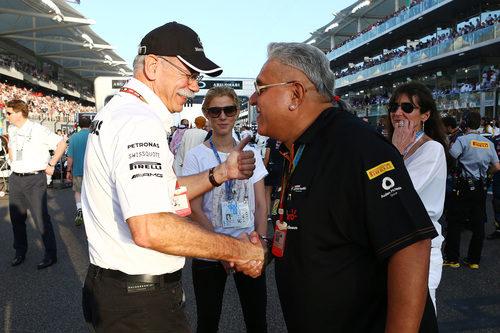 Vijay Mallya jefe del equipo Force India