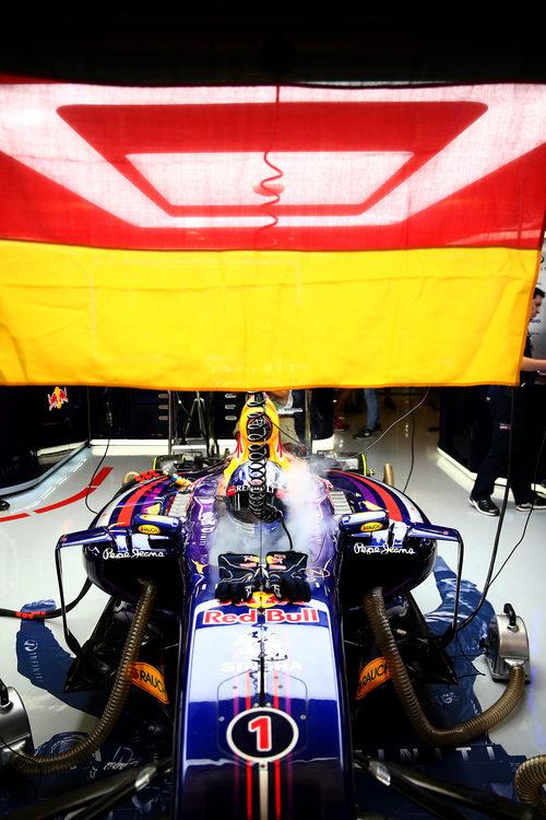 RB10 de Sebastian Vettel
