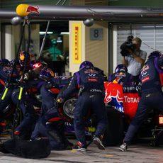 Red Bull son unos de los más rápidos en los pit stops