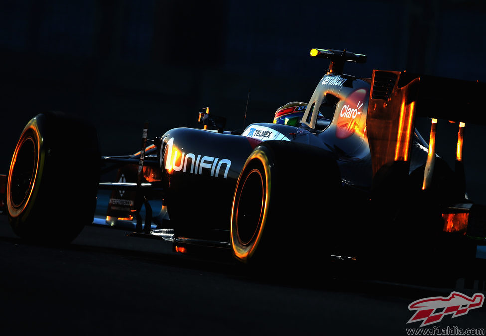 Esteban Gutiérrez termina sin puntuar