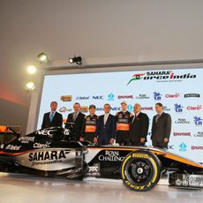 El equipo Force India presenta el nuevo VJM08