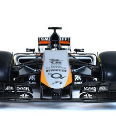 Parte frontal del nuevo Force India VJM08
