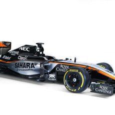 El coche de Force India para 2015: el VJM08